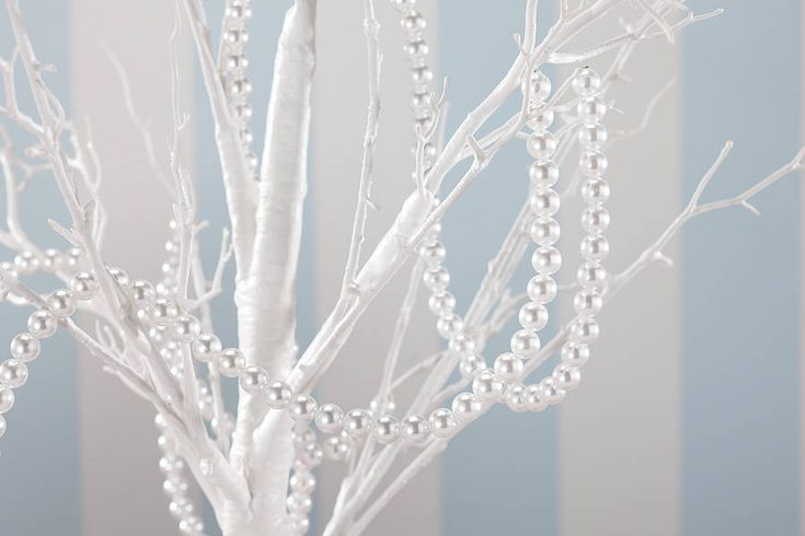 pearl garland for wedding centrepieces by ginger ray | notonthehighstreet.com