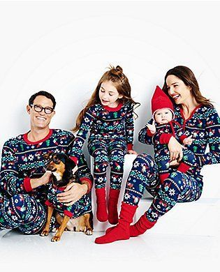 Family Matching Christmas Pajamas Clothing Sets Mother Daughter Father Son Clothes Family Clothing Parent-Child Family Set ZT8
