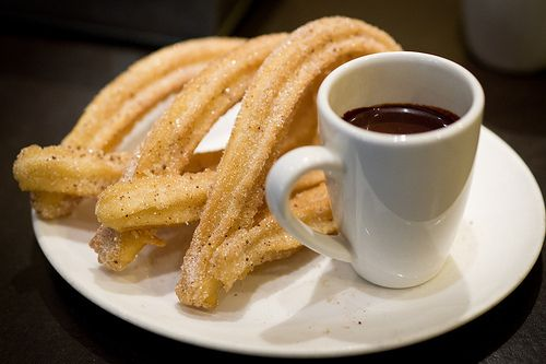 and then...churros began to happen!!!