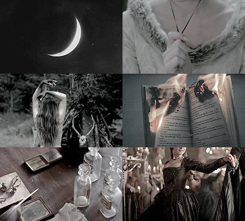 """ladyofvalyria: """" w i t c h e s : of the Tudor era """"They hid their spell books beneath their floors, and practiced only in the dark beneath the moon. Necklaces held charms for luck, and candles burned..."""