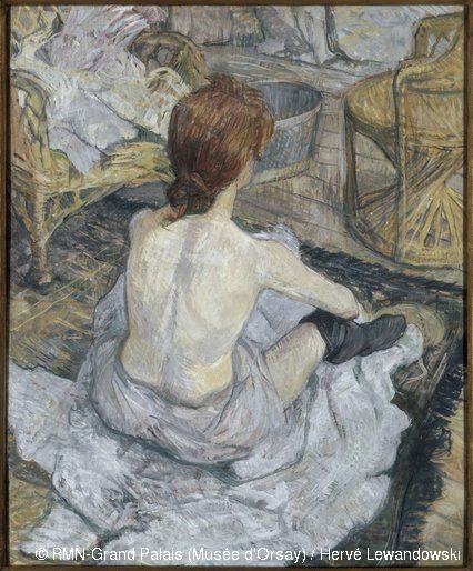 Henri de Toulouse-Lautrec,Rousse (La toilette),© RMN-Grand Palais (Musée d'Orsay) / Hervé Lewandowski