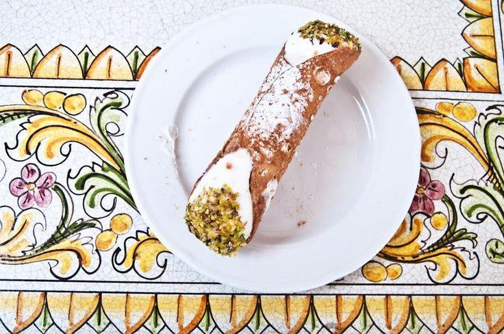 """""""Cannolo Siciliano"""" by @giadapappalardo #sicilia #cannolo #food #foodporn #sicily"""