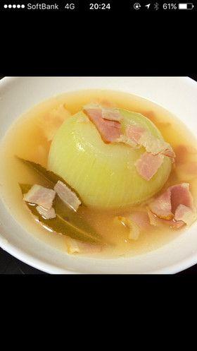 レンジで簡単♡まるごと玉ねぎスープ by ★まきんこ☆ [クックパッド] 簡単おいしいみんなのレシピが253万品