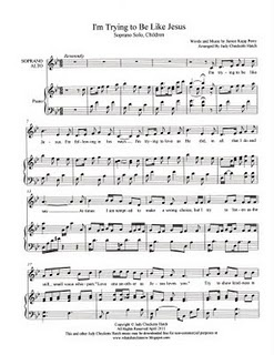SINGING TIME IDEA: Free sheet music arrangements of primary songs and hymns. Simple accompaniment.