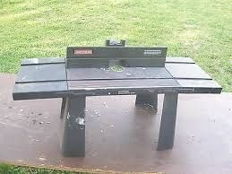 Image result for craftsman router table