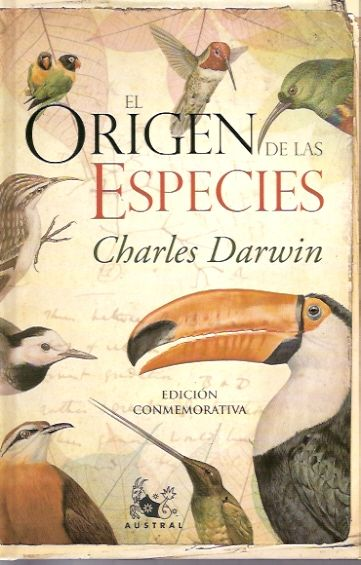 El Origen de las Especies de Charles Darwin. Este libro, cuyo tema ahora es parte de la educación básica, fue prohibido por la Iglesia. Este texto fue publicado en 1859, pero sus temas, como la selección natural y la evolución de los seres humanos, eran tabúes que contradecían cualquier lectura bíblica, por lo que fue censurado y prohibido.