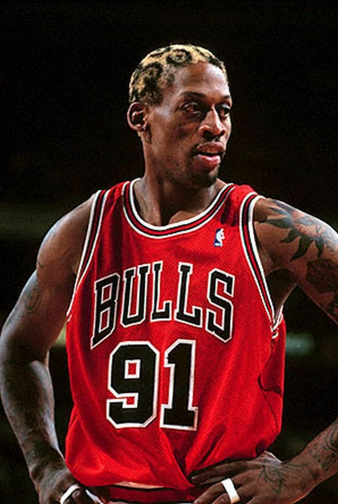 Chicago Bulls - Dennis Rodman : 1995-1998