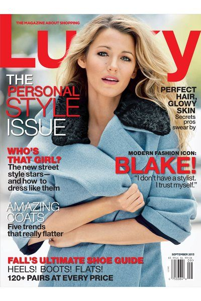 See Eva Chen's Lucky Cover Debut, Starring Blake Lively ...