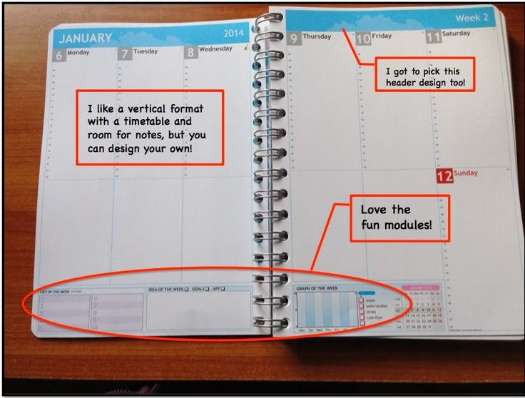 Minds in Bloom: Design Your Own Planner!