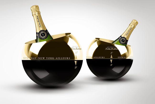 seaux à champagne