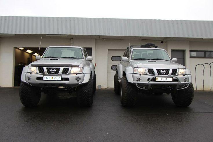 Fjallasport Nissan Patrols