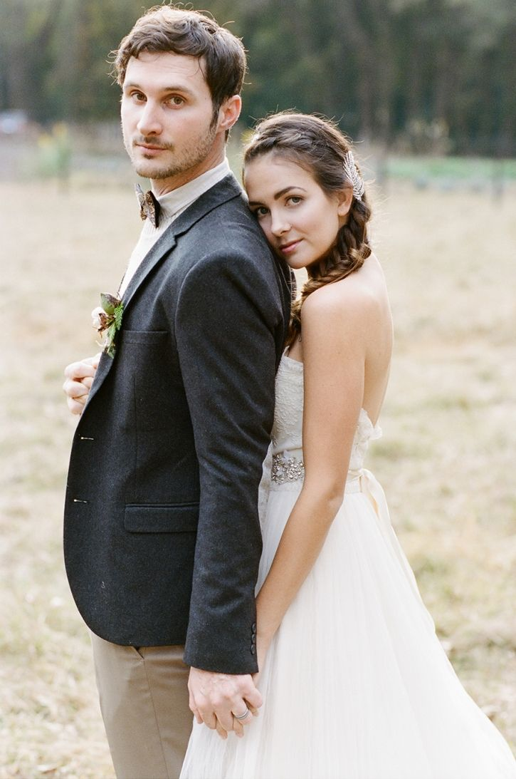 An Alabama Farm Wedding » Belle Lumière - photo by White Rabbit Studios