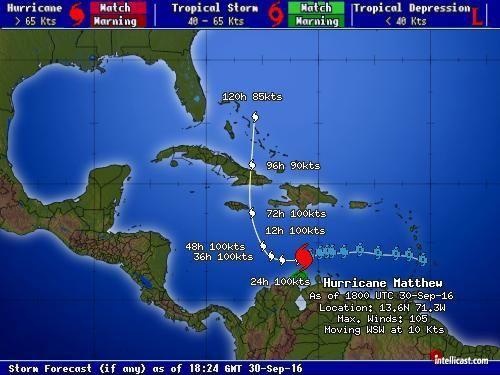 Go - Jamaica :: Weather : Tropical OutLook : Matthew