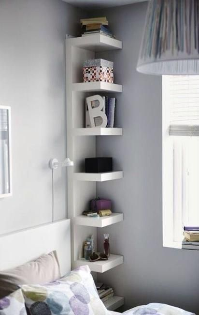 Shelf Decorating Ideas best 25+ bedroom shelves ideas on pinterest | bedroom shelving