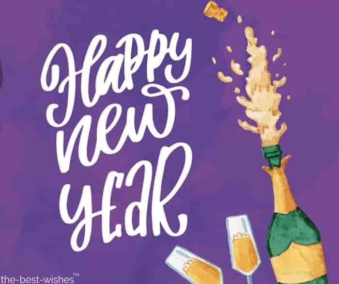 Best Champagne 2020 Happy New Year 2020 Wishes Quotes Messages [ Best Images ] | Happy