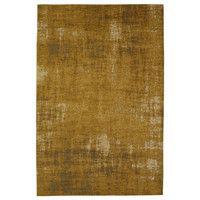 Alfombra naranja terracota de algodón 155 × 230cm FEEL | Maisons du Monde
