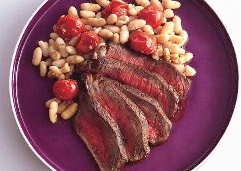 25-Minute Healthy Steak Dinner