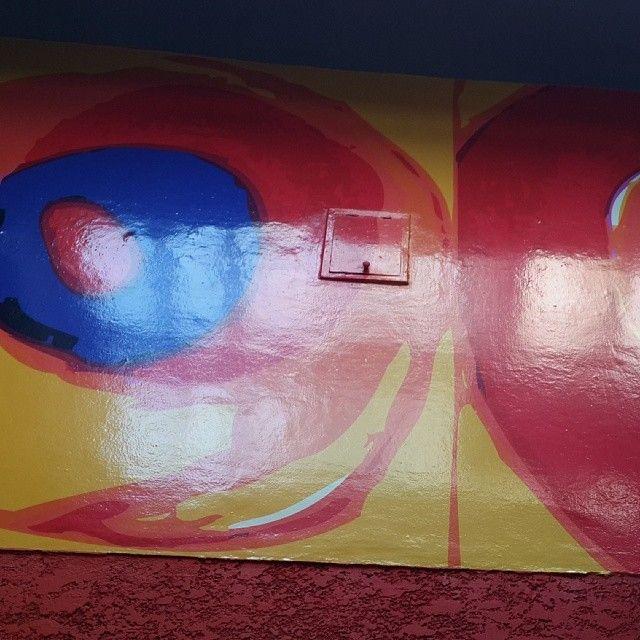 Kandinski - Vinilo sobre pared