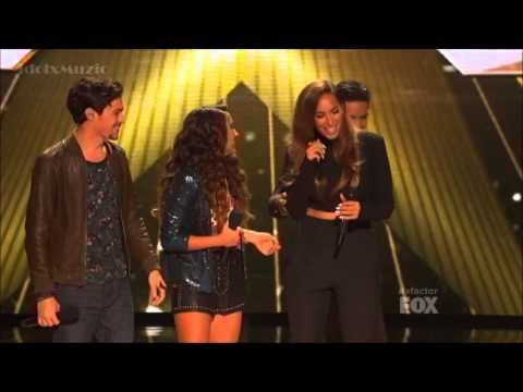 Alex and Sierra with Leona Lewis Bleeding Love I can't wait to buy their album :D
