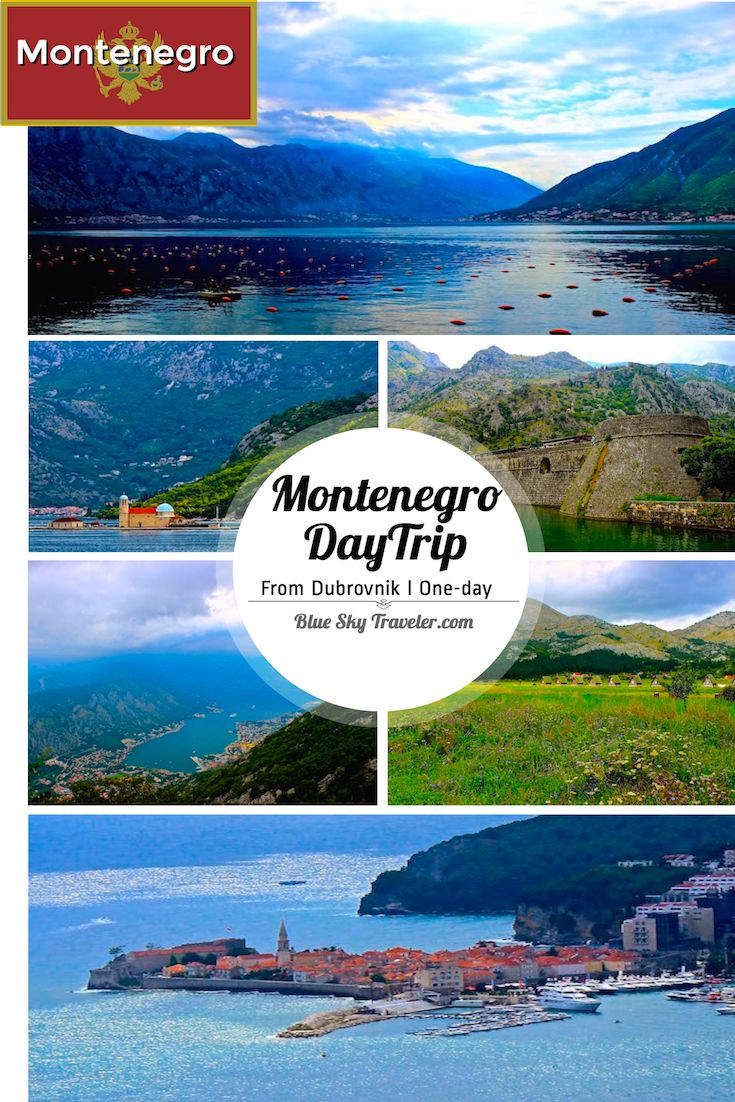 A Daytrip Visit To The Country Of Montenegro Seemed Like Must While Staying In Dubrovnik