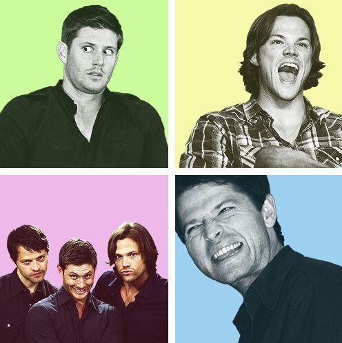 Jensen Ackles, Jared Padalecki and Misha Collins | Crafts ...