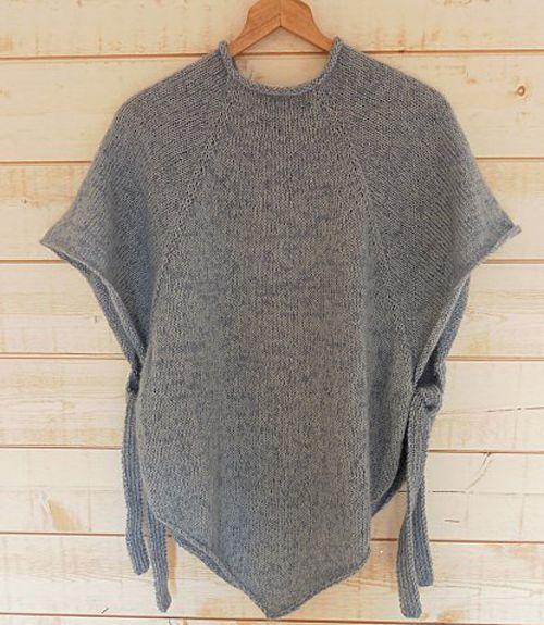 We Like Knitting: Top Down Poncho - Free Pattern