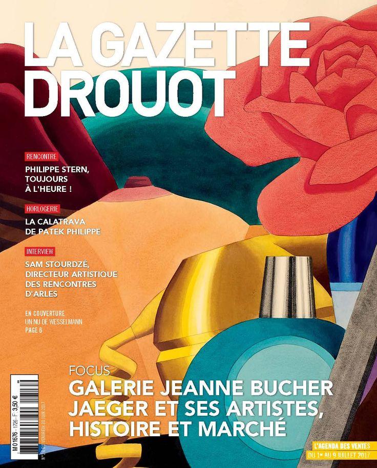 Gazette Drouot n°26 du 30 juin 2017. #Wesselmann #Nu #Cubisme #Abstraction #WebZine #ArtMarket