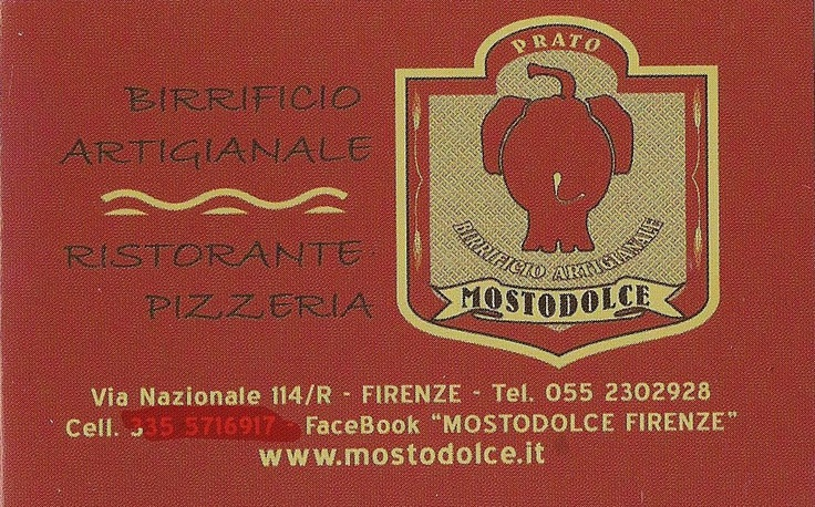 Mostodolce Firenze - Birrificio artigianale