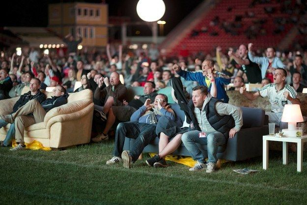 German Soccer Fans Are Being Encouraged To Bring Their Couches The Union Berlin Stadium