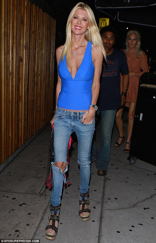 Going out! Tara Reid, 40, hit up The Nice Guy in West Hollywood on Saturday