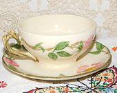 Vintage Franciscan Desert Rose, Vintage Dishes, Vintage Cups, Vintage Kitchen, Country Kitchen, Vintage Home Decor,