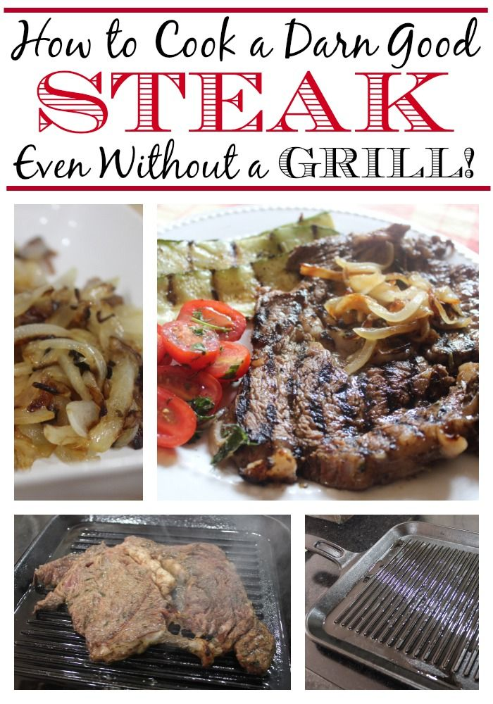 How to Cook a Darn Good Steak ...on the Stove! from The Everyday Home