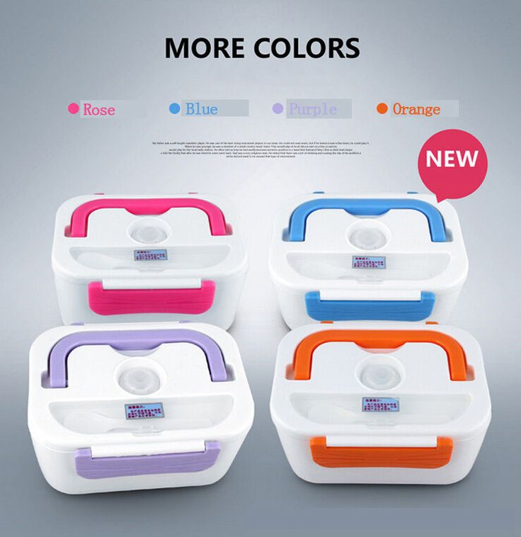 New Portable Electric Heating Lunch Bento Box Meal Heater Rice Dinner Food Container 110V/220V Lunchbox. Yesterday's price: US $23.99 (19.83 EUR). Today's price: US $19.19 (15.57 EUR). Discount: 20%.