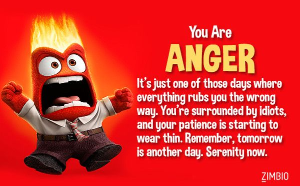 Which Inside Out Emotion Are You Zimbio Quizzes Inside Out
