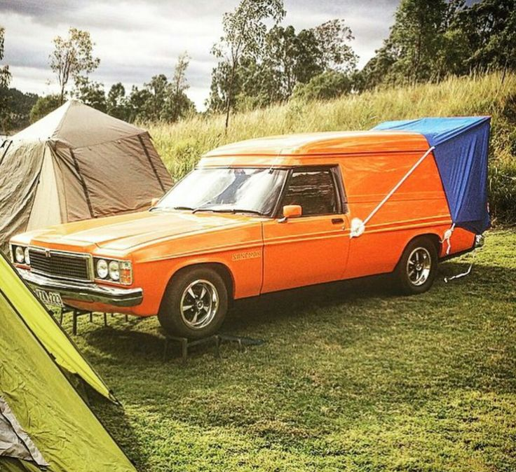 1979 HZ Holden Kingswood panelvan with Premier front