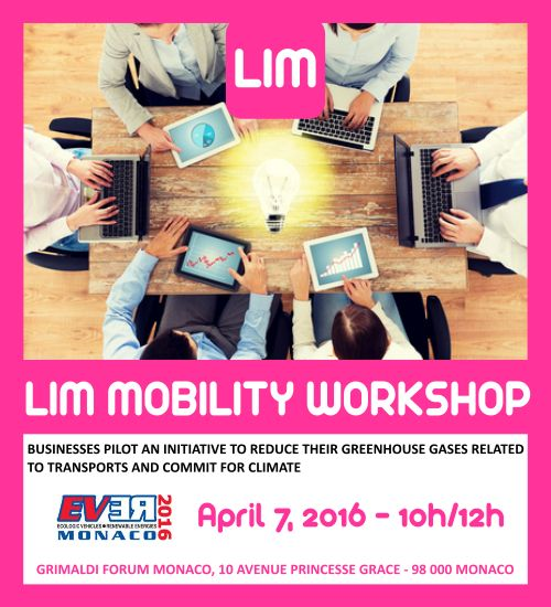 LIM exposes its events during EVER MONACO… In Monaco, March or April always announce a flagship event organized by a number of actors engaged in Principality and, internationally, on electric mobility and renewable energy. Once again, this year, EVER MONACO will open its doors at the Grimaldi Forum from the 6th to the 8th…