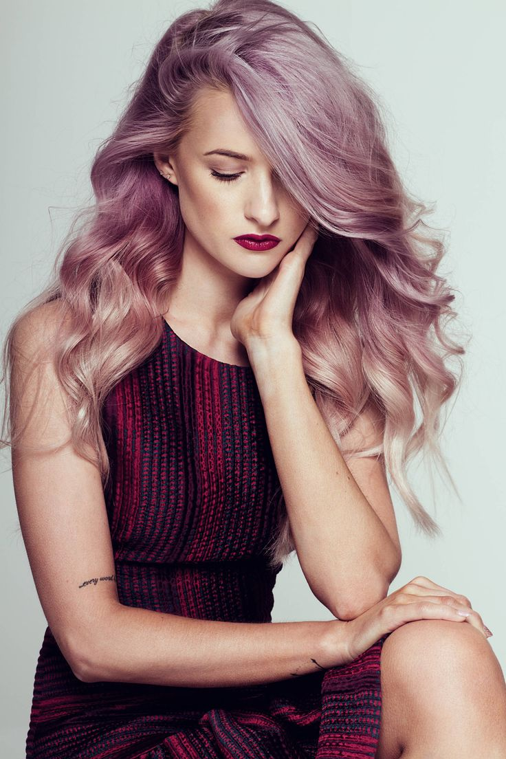 Back when I still had my purple lilac pastel ombre hair! Beautiful imagery captured by Kyle Galvin  for Atlas Magazine
