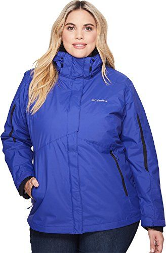 f4137fad6d4 Columbia Womens Plus Size Bugaboo Interchange Jacket Clematis Blue 3X   You  can get more details by clicking on the image. (This is an affiliate link)