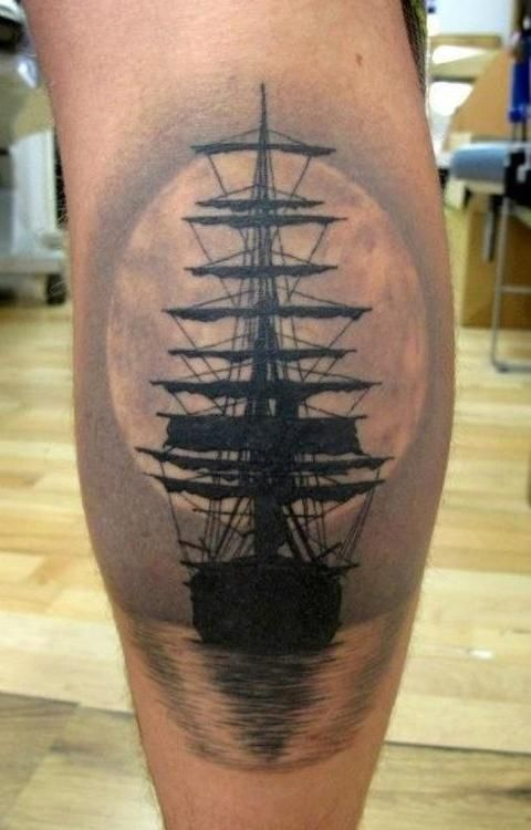 full moon tattoo - Szukaj w Google