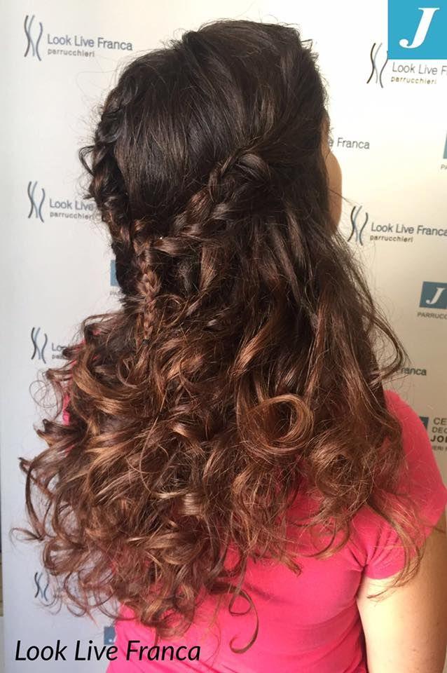 #centrodegradèjoelle #j #matrimonio #acconciare #novità2016/2017 #waves #intrecci #lookliveparrucchieraFranca #sfumature #wedding #semplicità #elegante #viadeimirti29 #ragusa