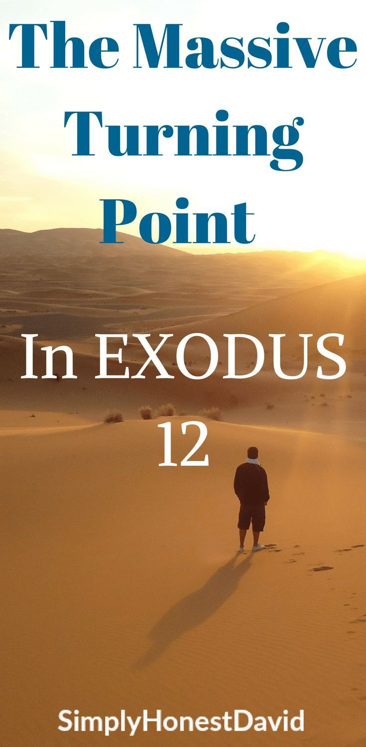 Let's have a Bible study discussion about the turning point in Exodus 12!
