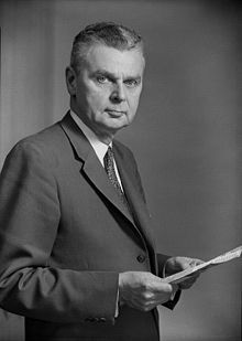 John George Diefenbaker was born in Neustadt, Ontario on September 18, 1895. At 14 he worked at a train station selling news papers in Saskatoon. He married Edna Brower in 1929; she died in 1951. Remarried to Olive Palmer in 1953 ( 1 step- daughter ) Excellent reputation as a lawyer.  Presented himself to the Parliament in 1925. Lost several elections 1926, 1929, 1938. He got a seat in the Parliament, in 1940. 13th prime minister June 21,1957 to April 22,1963.