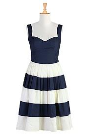 .Colorblock Sundresses, Summer Dresses, Fashion Dresses, Style, Clothing, Bridesmaid Dresses, Colorblock Dresses, Fifty Colorblock, Nautical Dresses