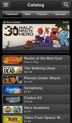 For the Gamer: The great thing about Steam Mobile (free) is that it isn't specific to just one game. The app, similar to the online game platform, lets users access just about every game that's available for PC. More features allow users to browse community groups and user profiles and read the latest gaming news.