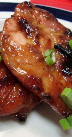 Recipe for Hawaiian BBQ Chicken - My go-to BBQ chicken recipe. This doesn't use any sticky storebought sauce, just a simple Hawaiian-style marinade. PERXFOOD.COM