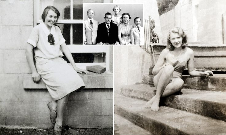 Black and white photographs have emerged of Donald Trump's mother Mary Anne MacLeod in her native Scotland. She emigrated from the island of Lewis in the Outer Hebrides.