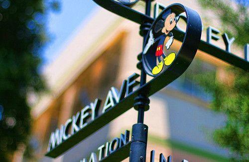 Walked the streets between soundstages on the Walt Disney Studios in Burbank.