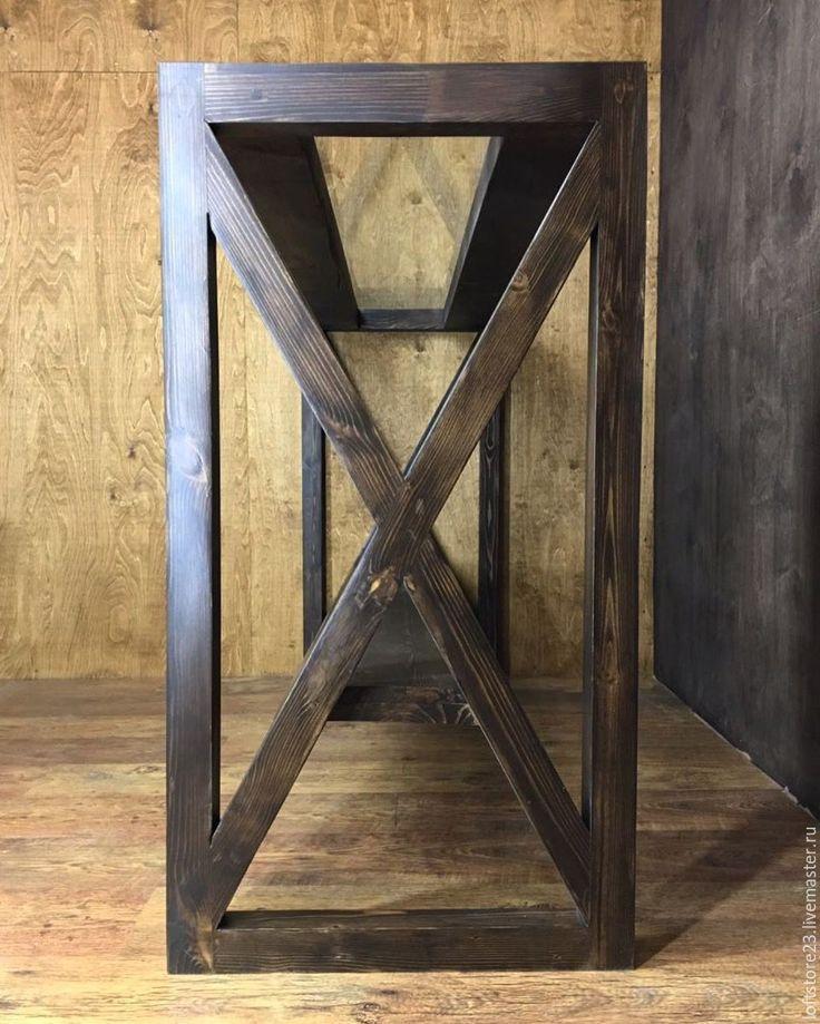 Купить Барная стойка VALET. - коричневый, стол, барный стол, барная стойка, Стол из массива