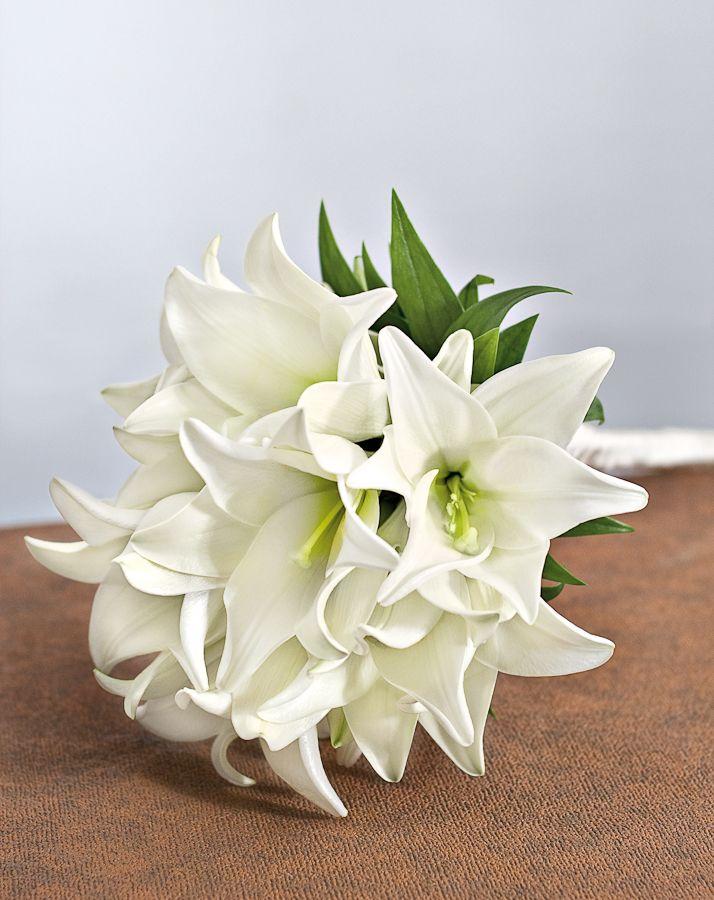 Die besten 25 Brautstrauss lilien Ideen auf Pinterest  Lilienbouquethochzeit Lilien
