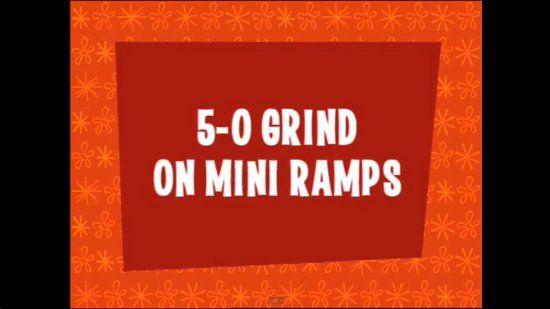 5-0 Grind na Mini Ramp com Tony Hawk e Colin McKay - Clube do skate